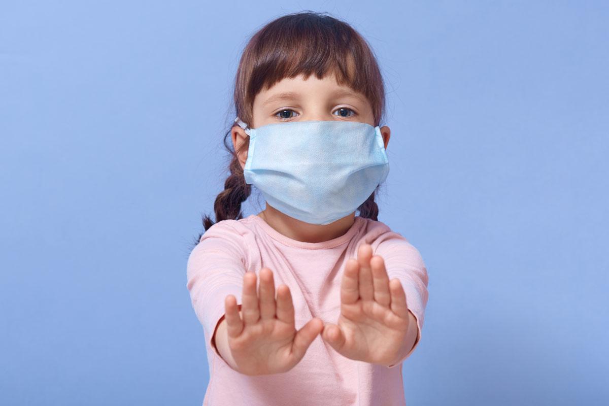 Ochrona dzieci w szkole - maseczki