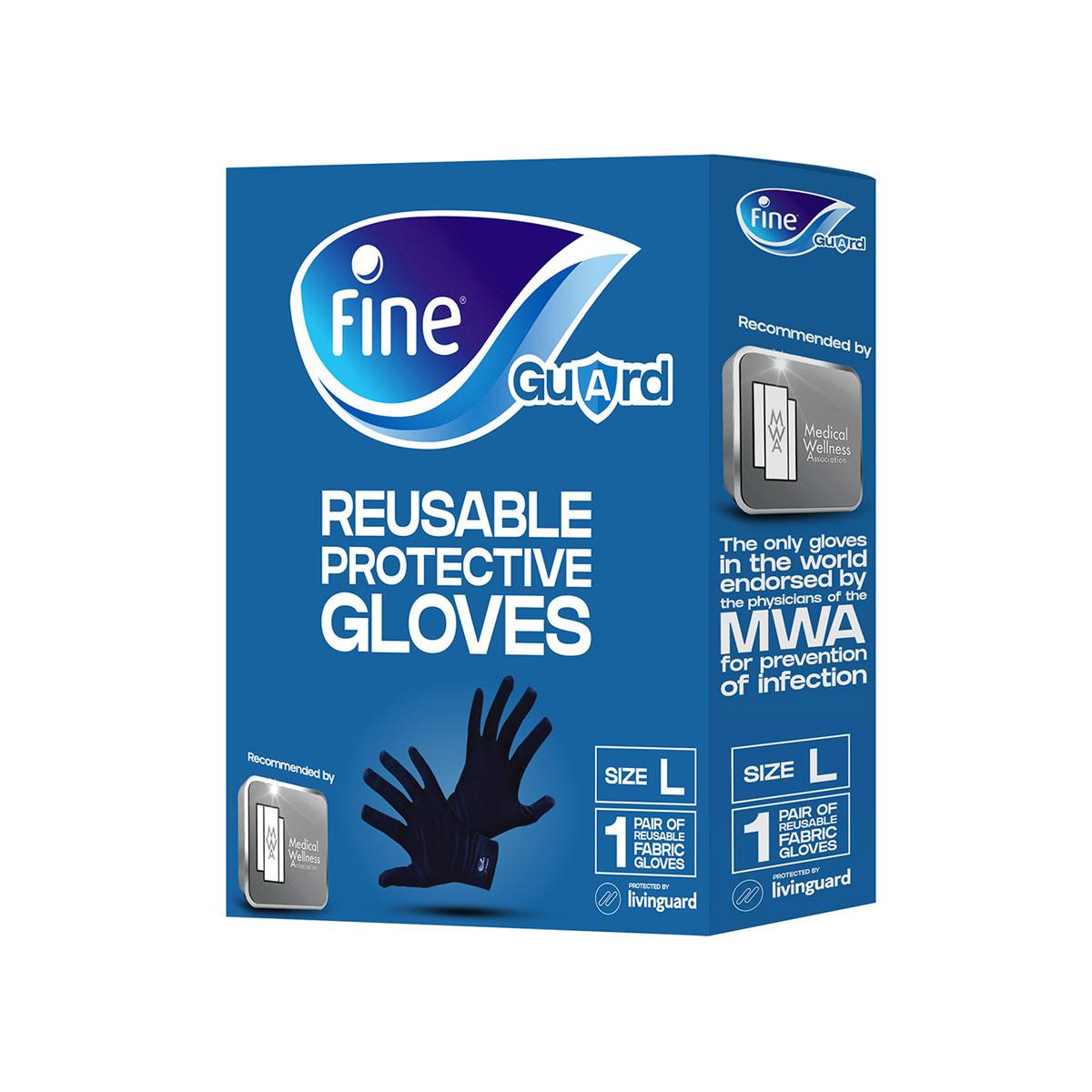 Rękawiczki Fine Guard Gloves - pudełko
